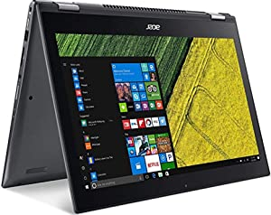 "Acer Spin 5 SP515-51GN-83YY, 15.6"" Full HD Touch, 8th Gen Intel Core i7-8550U, GeForce GTX 1050, Alexa Built-in, 8GB DDR4, 1TB HDD, Convertible, Steel Gray (Renewed)"