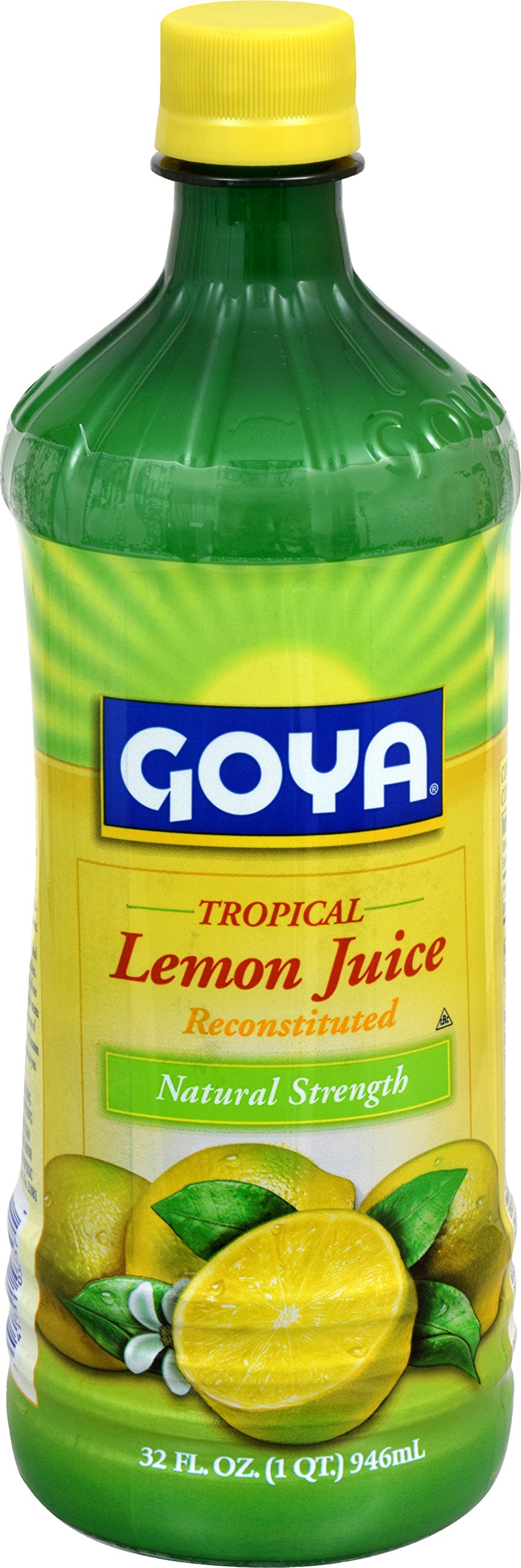 Goya Foods Lemon Juice, 32-Ounce (Pack of 12)