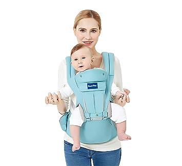 c980ed200d2 Amazon.com   360 Ergonomic Baby Carrier - All Season Baby Sling - 9 ...