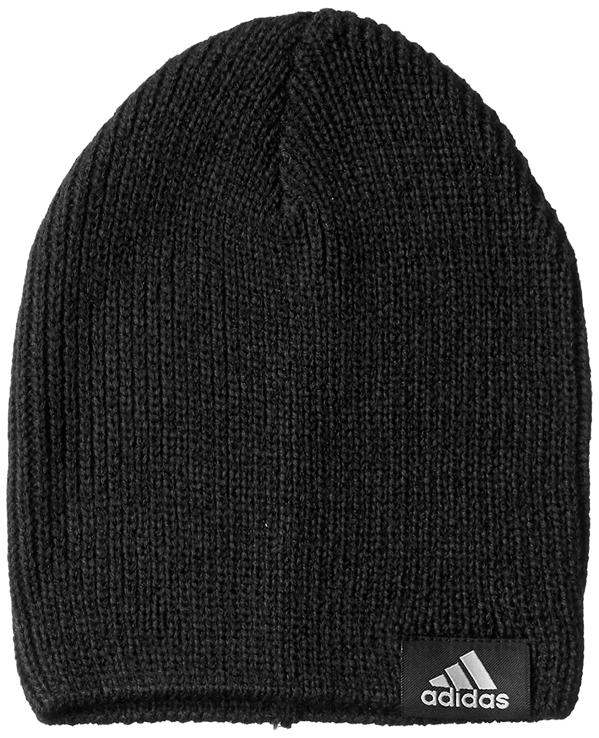 cf2e2a34 adidas Kid's Performance Beanie, Black/Solid Grey, One Size: Amazon.co.uk:  Sports & Outdoors