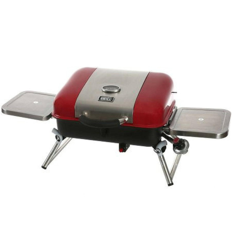 Amazon.com: Portátil mesa parrilla de Gas propano con ...