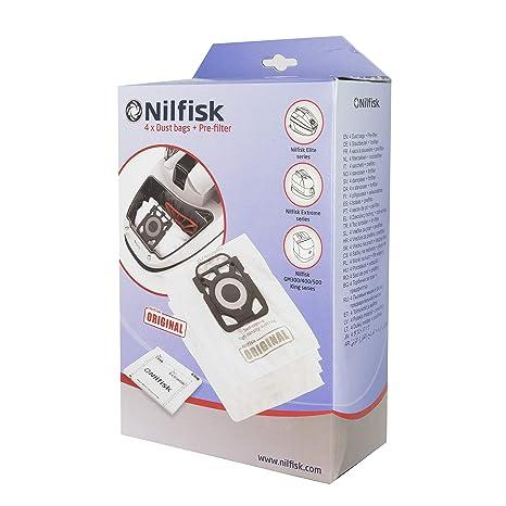 Amazon.com: Nilfisk-Alto Nilfisk Sac 4 + 1 pour Aspirateur ...