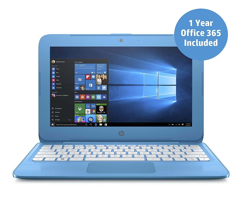 Hp Stream 11 Ah005na 116 Inch Laptop Aqua Blue Intel Celeron