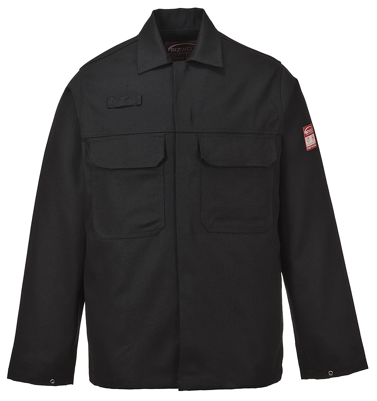 Regular Portwest BIZ2NARXXL Bizweld Jacket Navy Size: XX-Large