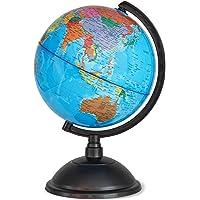 Juvale - Globo terráqueo, ideal para niños o profesores (20cm)