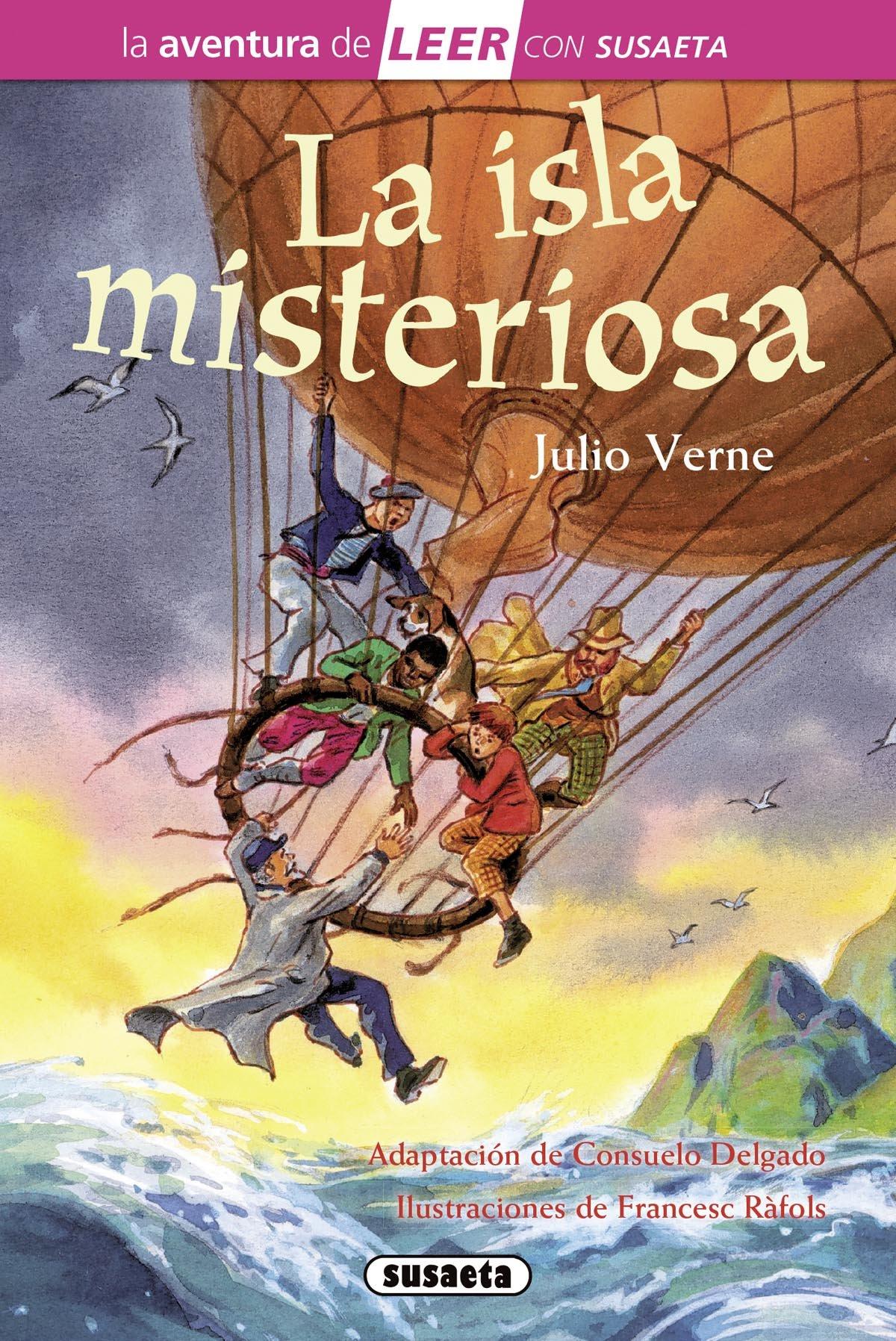 La isla misteriosa La aventura de LEER con Susaeta - nivel 3: Amazon.es: Verne, Julio, Ràfols, Francesc: Libros