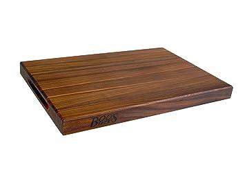 Amazon.com: John Boos WAL-R01 Walnut Wood Edge Grain Reversible ...