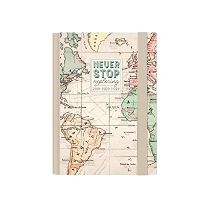 MAP - Mini foto Weekly Diary With Notebook 16 MONTH 2019 ...