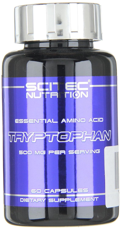 Scitec Nutrition Tryptophan aminoácidos 60 cápsulas: Amazon.es: Salud y cuidado personal