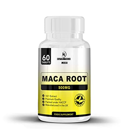 Maca Andina : tabletas de raíz de maca de alta resistencia 1500 mg por dosis –