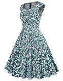 GRACE KARIN 50's Retro Flared Dresses for Women