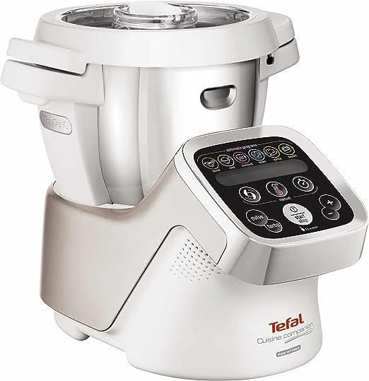 Tefal Cuisine Companion FE800A - Robot de cocina (4,5 L, Acero ...