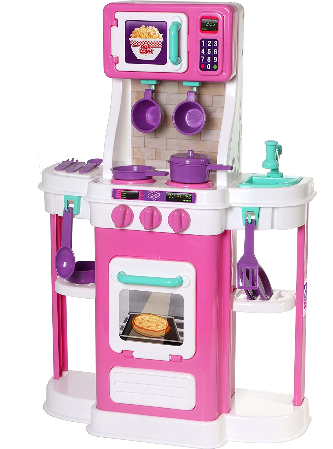 Toys r us kitchen sets toy kitchens for toddler girls for Kitchen set game