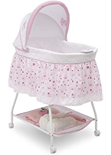 Minnie Mouse Gliding Bassinet by Disney