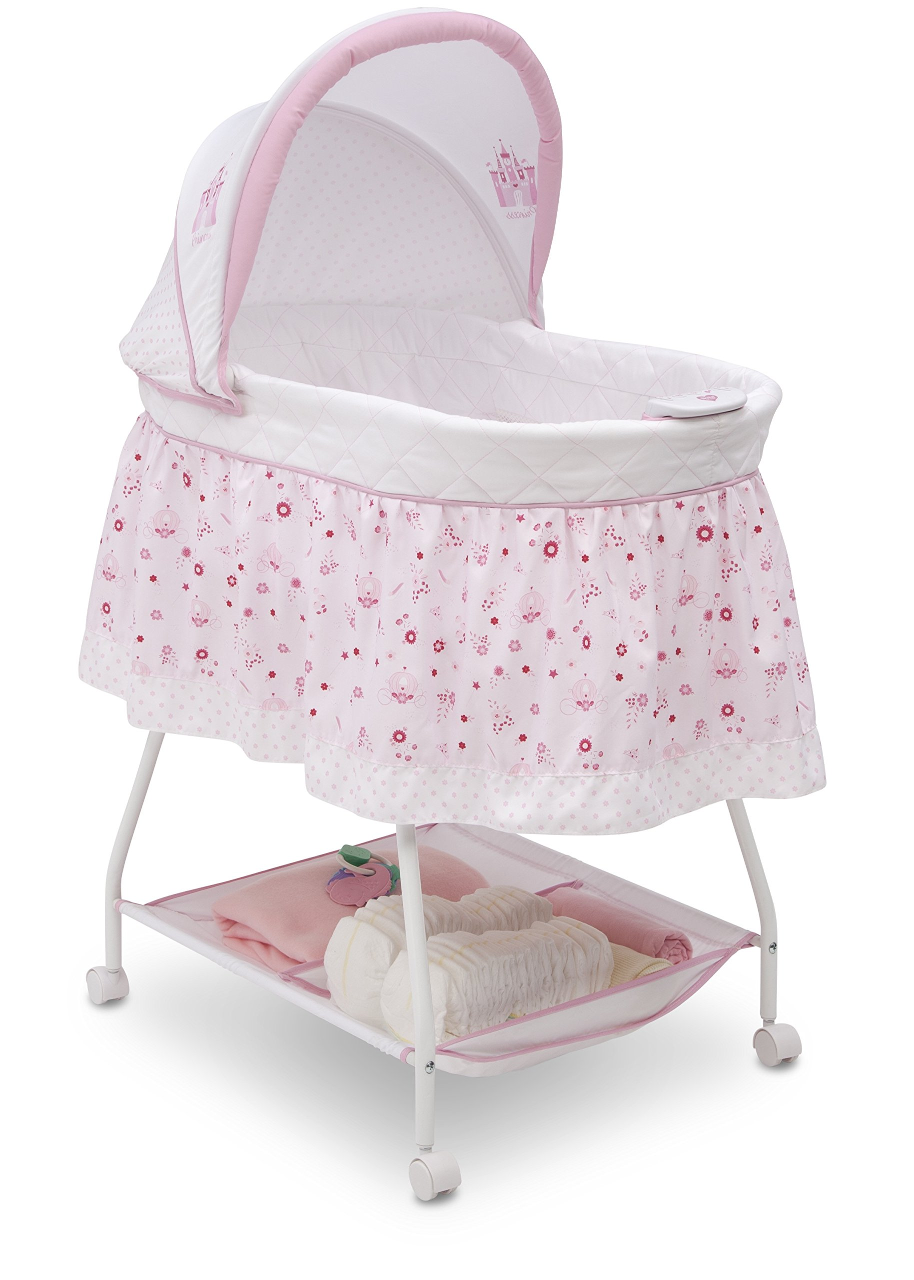 Disney Baby Ultimate Sweet Beginnings Bassinet, Disney Princess by Delta Children