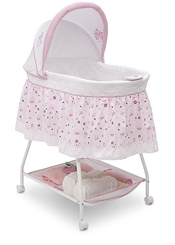 Disney Baby Ultimate Sweet Beginnings Bedside Bassinet 2 Pack of Fitted Bassinet Sheet