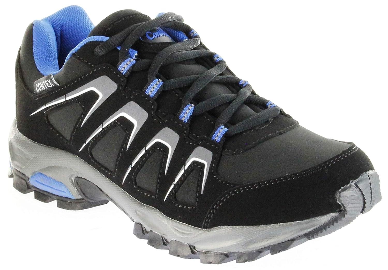 ConWay Sportschuhe Schwarz Blau Softshell CONTEX Herren Damen Outdoor Schuhe Dakar