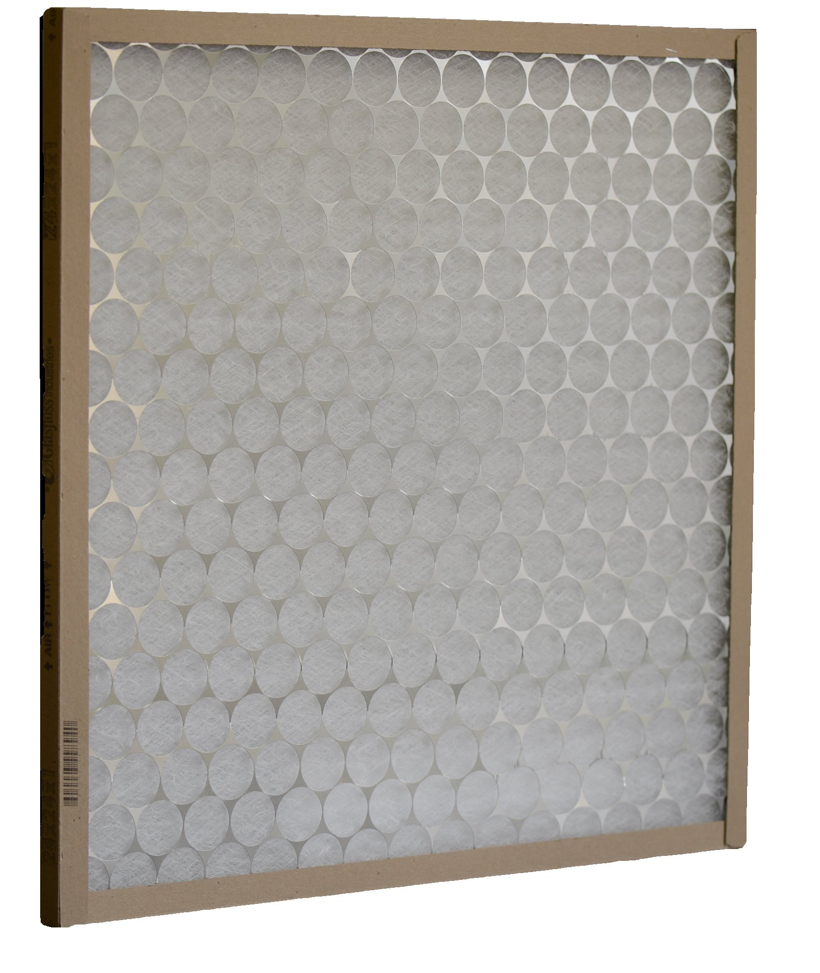 Glasfloss Industries PTA25252 PTA Series Heavy Duty Disposable Panel Air Filter, 12-Case