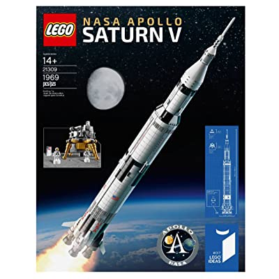 2020 Lego 21309-- Ideas NASA Apollo Saturn V set: Toys & Games