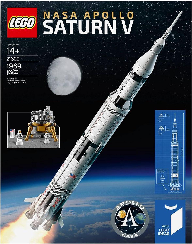 2017 newest LEGO NASA Apollo Saturn V