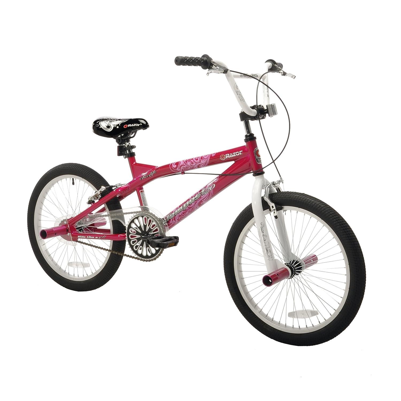 Amazon.com : Razor Tempest Girls Bike, 20-Inch : Childrens Bicycles ...