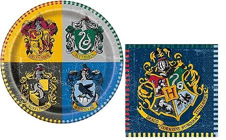 Harry Potter fiesta de cumpleaños platos y servilletas set ...