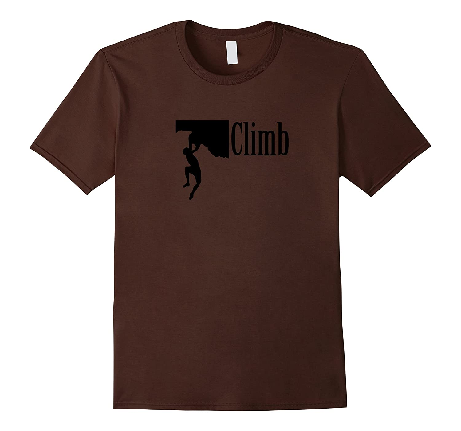 Rock Climbing T-Shirt Simple, Great Way to Honor Climbing-BN