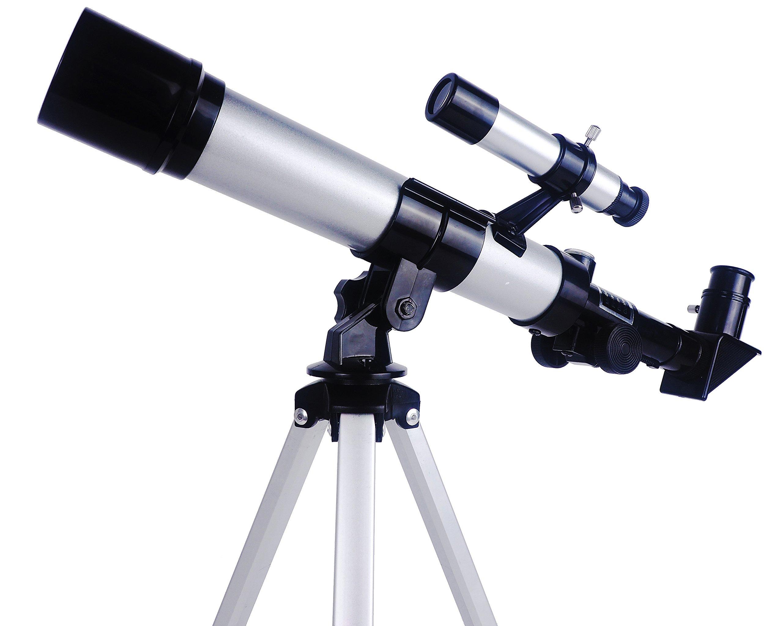 YA BEI SHANGMAO Children's Telescope, Nature Exploration Toys, Children's Astronomical Science Kit,Telescope, Aluminum Tripod, Beginner Telescope & Portable Telescope, Science Toys