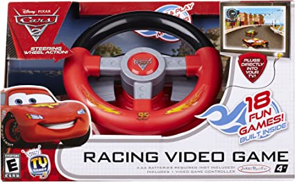 Amazon.com: TV juegos Deluxe Cars 2: Toys & Games