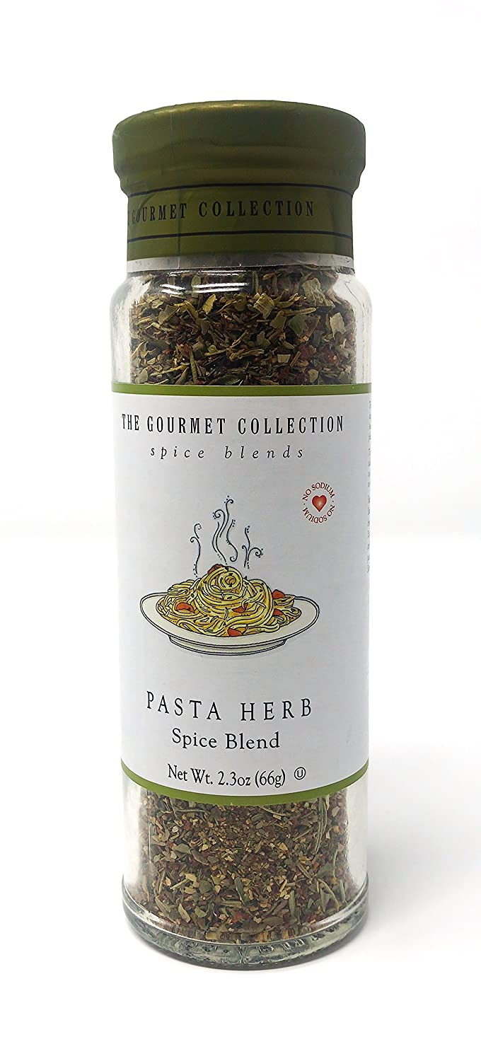 The Gourmet Collection Spice Blends Pasta Herb Blend - Seasoning for Cooking: Italian, Mediterranean, Greek. Meat, Fish, Pasta Seasoning: 156 Servings