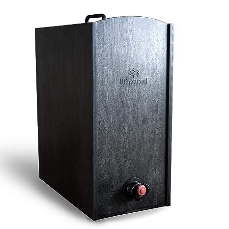 Amazon.com: Caja Vino Madera Caso por winewood | Fits 5 ...