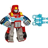 TRANSFORMERS Rescue Bots Energize - Heatwave the Fire Bot Converting Robot Action Figure - Playskool Heroes - Kids Toys…