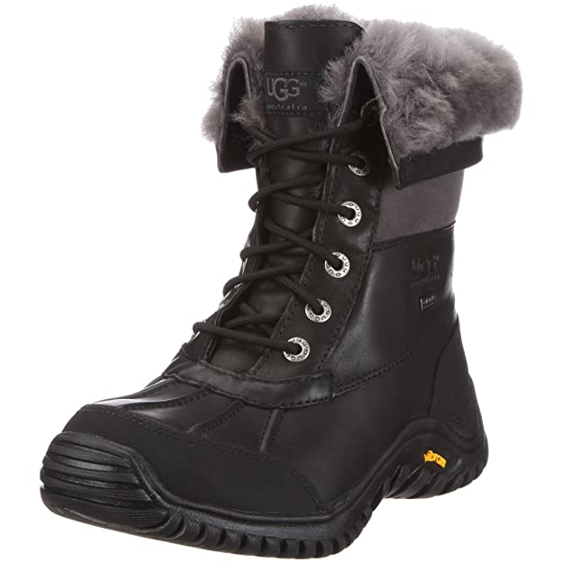 Lace Up Ankle Mid Calf Artic Warm Fur Lined Water Resistant Eskimo Snow Boots XWWOC Taille-39 1-2 kS2kH
