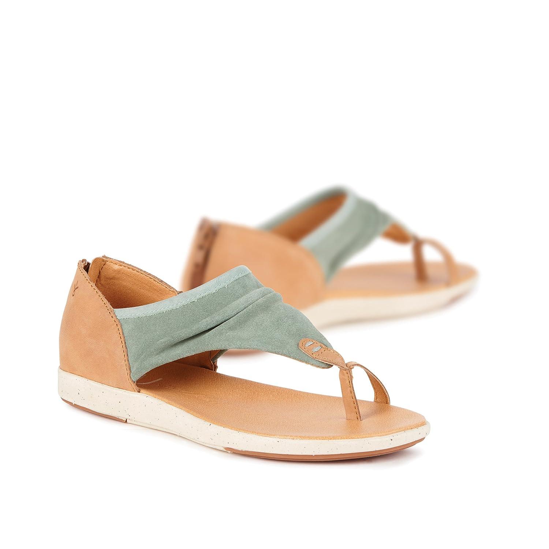 NEW EMU Australia Yarra Black Suede Leather Sandal Shoes Women/'s