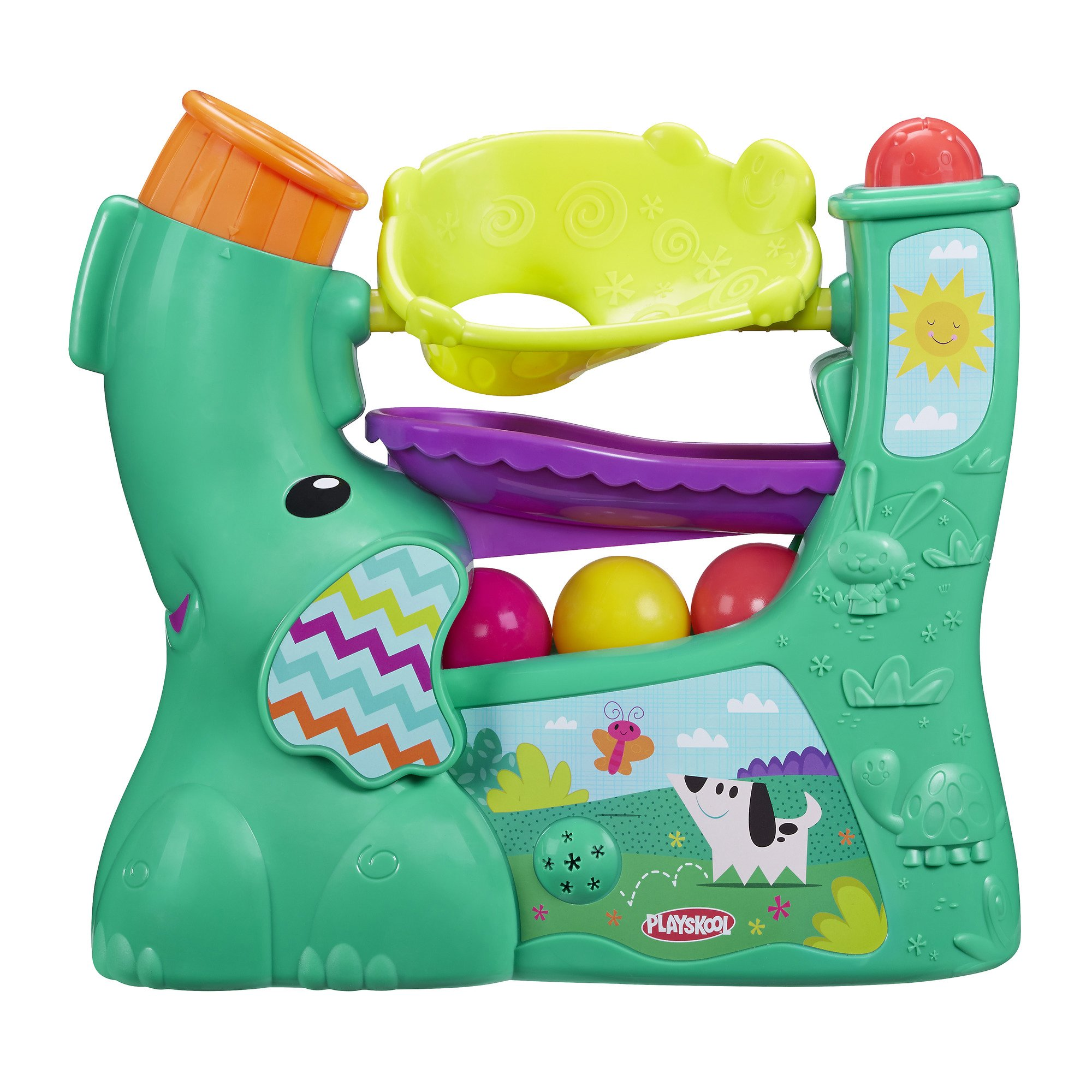 Playskool Chase n Go Ball Popper (Teal), Ages 9 Months and up by Playskool (Image #1)