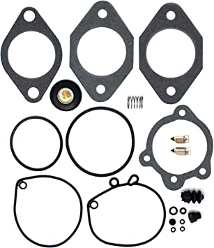 DP 0101-029 Carburetor /& Air Cut Off Rebuild Repair Parts Kit Compatible with Harley Davidson 76-89 with Standard Keihin Carbs