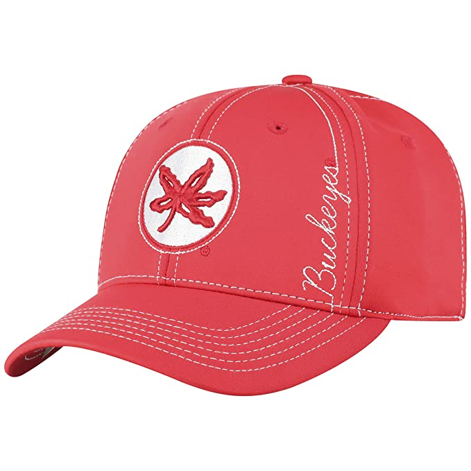new style 11003 a0e1e Amazon.com   Top of the World Ohio State Buckeyes Official NCAA One Fit  Learning Curve Hat Cap 451145   Clothing