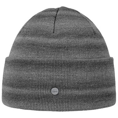 Lierys Knit Hat with Cuff and Stripes Men Winter hats winter beanie cuffed