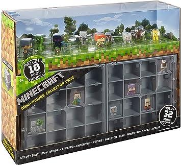 Minecraft Maleta de Coleccion con 10 Figuras de Acción Juego para ...