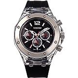 Time100 Orologio Sportivo e Multifunzionale da Ragazza e Donna in Silicone Protezione dell'Ambiente#W70034L.01AN