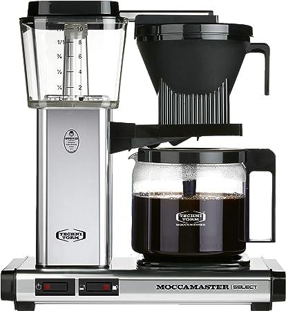 Moccamaster - Filtro para cafetera plata pulida: Amazon.es: Hogar