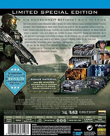 Halo 4 - Forward Unto Dawn limited Steelbook Blu-ray: Amazon