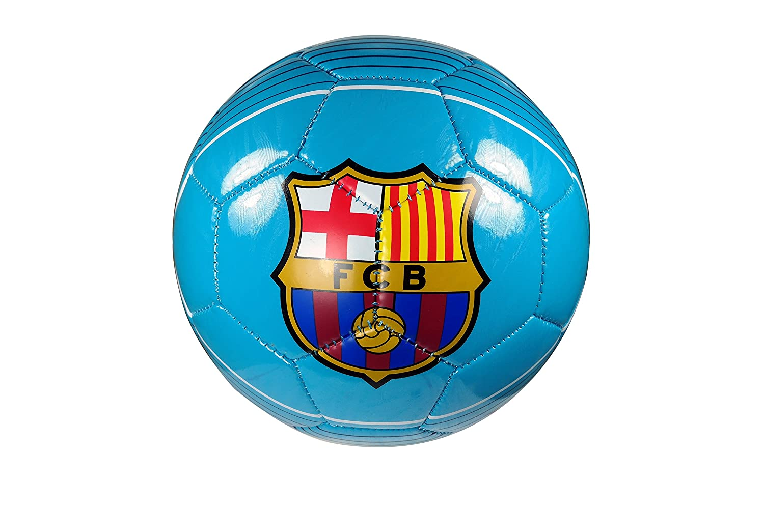 FC Barcelona Authentic Official Licensedサッカーボールサイズ4 – 02 – 6 B0765T43XC