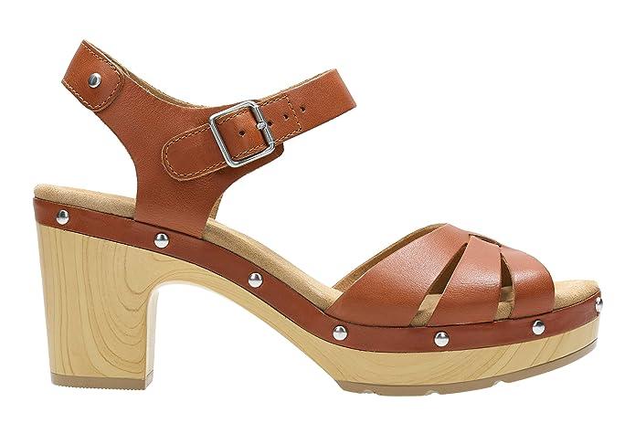 ClarksLedella Trail - Sandalias Mujer, Color marrón, Talla 35,5 EU: Amazon.es: Zapatos y complementos