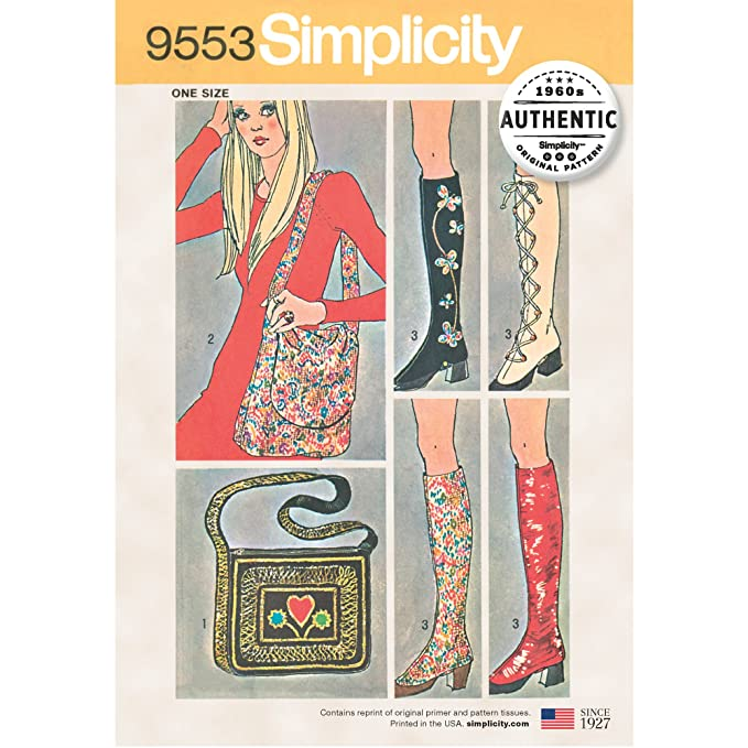1960s Sewing Patterns | 1970s Sewing Patterns Simplicity Creative Patterns UV9553OS Accessories One Size $7.38 AT vintagedancer.com