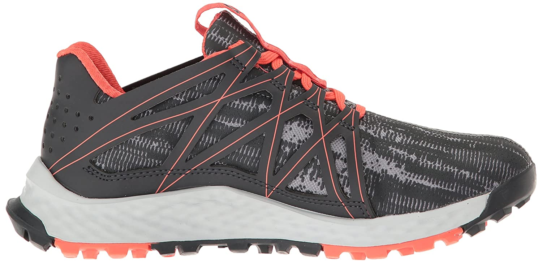 adidas Women's Vigor Bounce W Trail Runner B01H7YGUGE 8 B(M) US|Grey/Dark Shale/Easy Coral