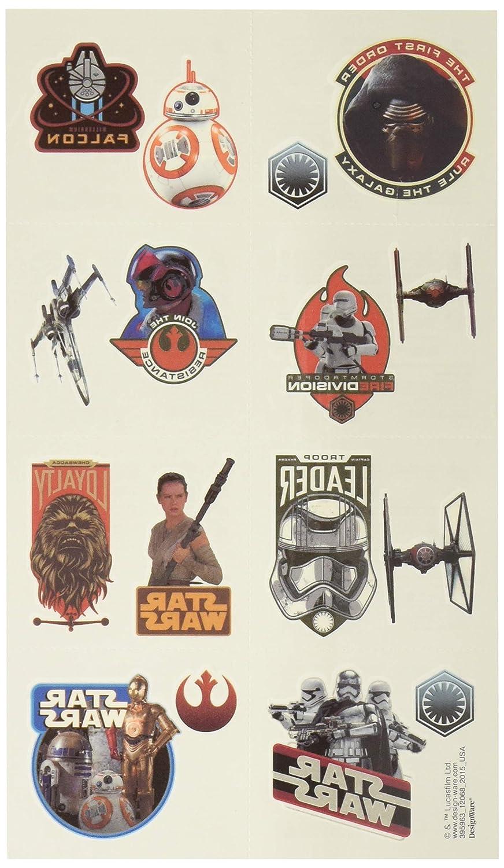 Star Wars The Force despierta (Episodio 7) Tatuajes: Amazon.es ...