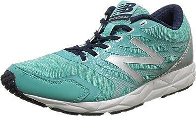 víctima Abuelo Pepino  New Balance 590, Zapatillas de Running, Mujer, Multicolor (Green/Silver  316), 40.5 EU: Amazon.es: Zapatos y complementos