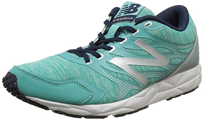 New Balance 590, Zapatillas de Running, Mujer, Multicolor (Green/Silver 316), 40.5 EU: Amazon.es: Zapatos y complementos