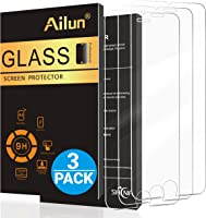 Ailun Screen Protector for iPhone 8 Plus 7 Plus 6s Plus 6 Plus,[5.5inch][3Pack],2.5D Edge Tempered Glass Compatible with...